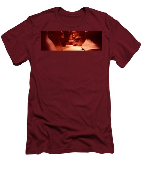 Rock Formations, Antelope Canyon, Lake Men's T-Shirt (Athletic Fit)