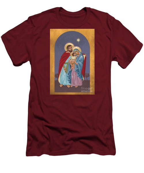 The Holy Family For The Holy Family Hospital Of Bethlehem 272 Men's T-Shirt (Slim Fit) by William Hart McNichols