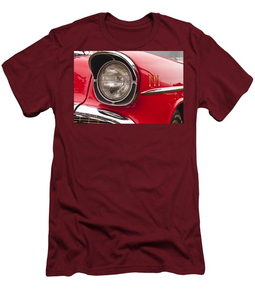 1957 Chevrolet Bel Air Headlight Men's T-Shirt (Athletic Fit)