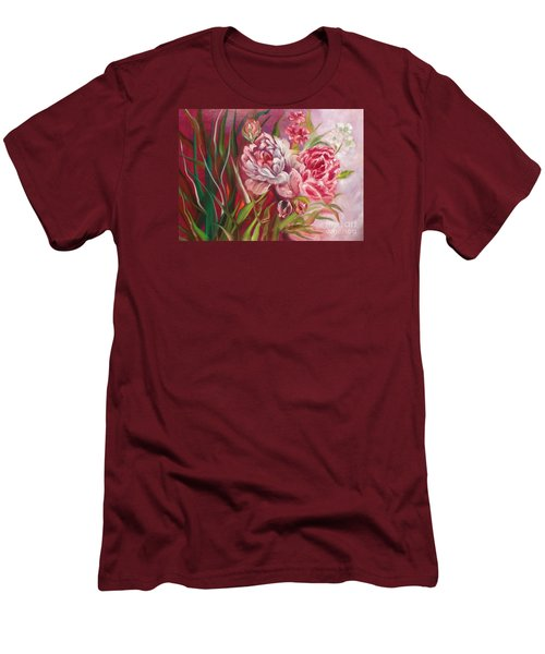 Roses Roses Men's T-Shirt (Athletic Fit)