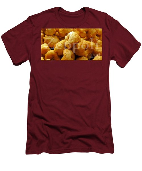 Men's T-Shirt (Slim Fit) featuring the photograph Zeppoli by Lilliana Mendez