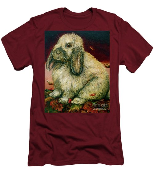 Some Bunny Is A Honey Men's T-Shirt (Slim Fit) by Linda Simon