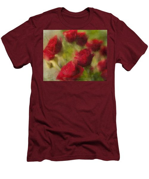 A Shower Of Roses Men's T-Shirt (Athletic Fit)