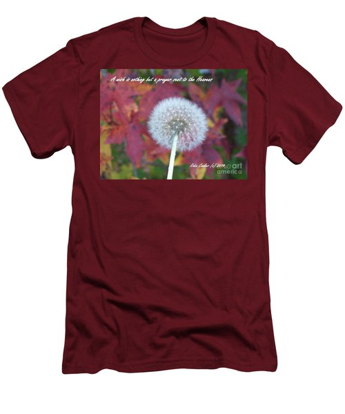 A Wish For You Men's T-Shirt (Slim Fit) by Robin Coaker
