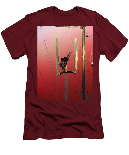 Acrobatic Aerial Artistry1 Men's T-Shirt (Athletic Fit)