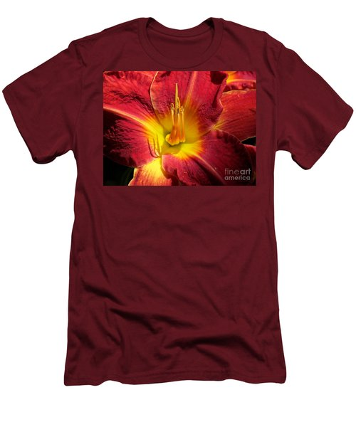 Men's T-Shirt (Slim Fit) featuring the photograph Akemi by France Laliberte