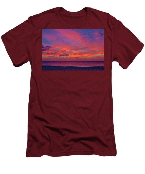 Aruba Sunset Men's T-Shirt (Athletic Fit)