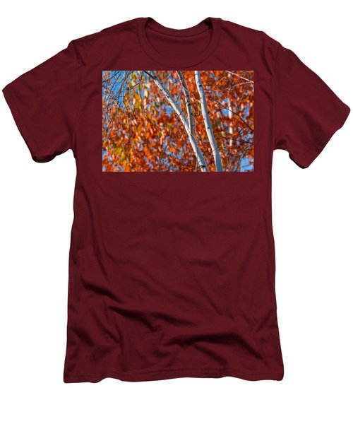 Men's T-Shirt (Slim Fit) featuring the photograph Aspen by Sebastian Musial