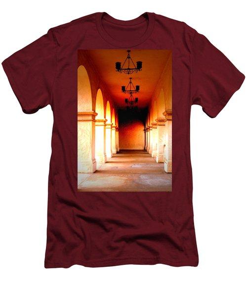 Balboa Park At Sunrise Xl Men's T-Shirt (Athletic Fit)