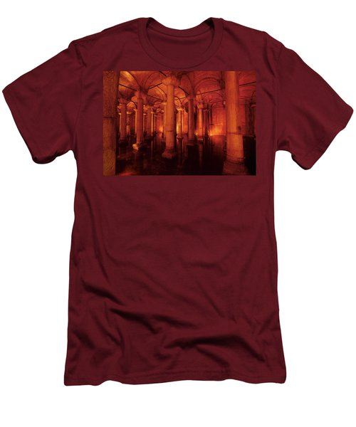 Basilica Cistern Men's T-Shirt (Athletic Fit)