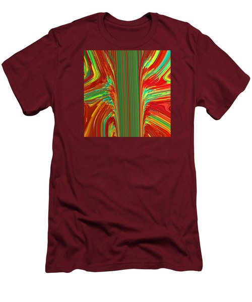 Bird Of Paradise I  C2014 Men's T-Shirt (Slim Fit) by Paul Ashby