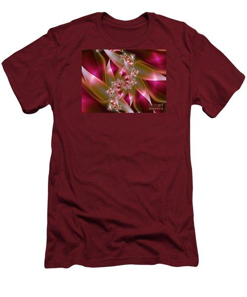 Bird Of Paradise Men's T-Shirt (Slim Fit) by Lena Auxier