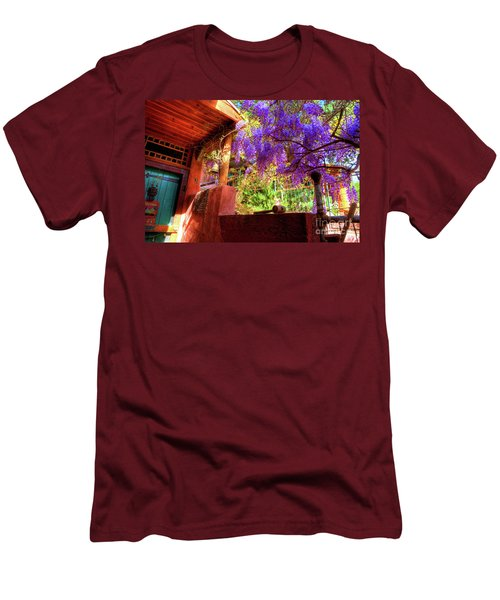 Bisbee Artist Home Men's T-Shirt (Athletic Fit)