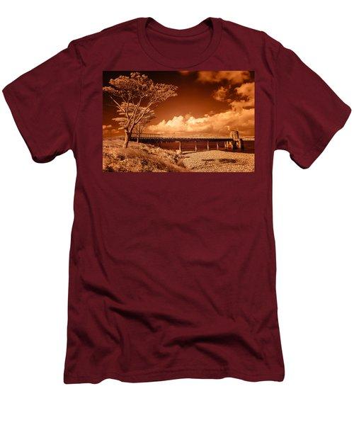 Bridge On The Lake Men's T-Shirt (Athletic Fit)