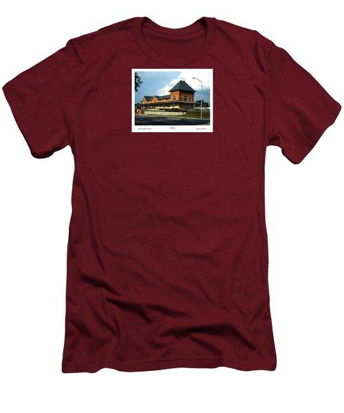 Bristol Train Station Bristol Virginia Men's T-Shirt (Athletic Fit)