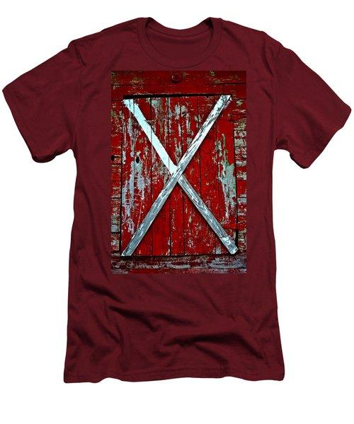 Camp Westminster Barn Men's T-Shirt (Slim Fit) by Tara Potts