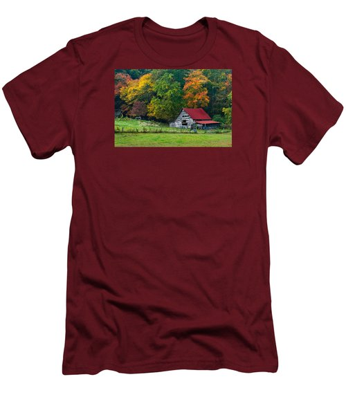 Candy Mountain Men's T-Shirt (Athletic Fit)