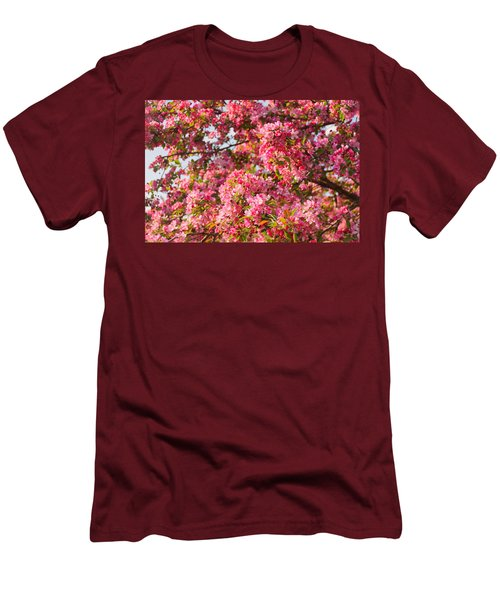 Cherry Blossoms In Washington D.c. Men's T-Shirt (Athletic Fit)