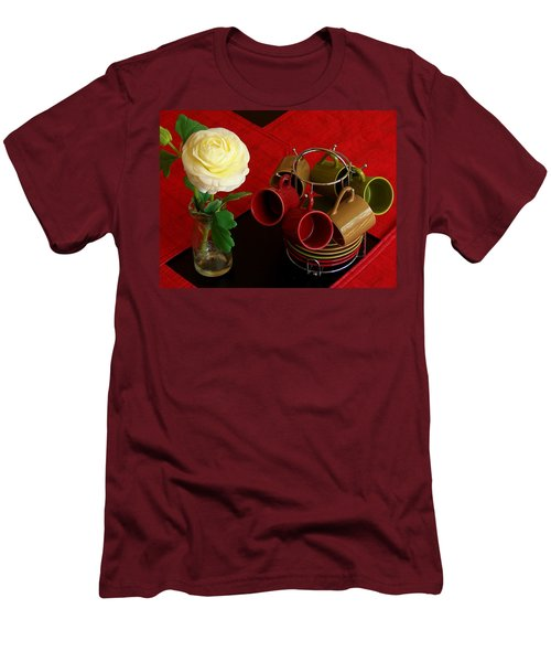 Men's T-Shirt (Slim Fit) featuring the photograph Comfort Zone by Rodney Lee Williams