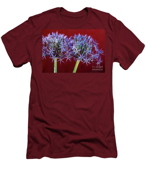 Flowering Onions Men's T-Shirt (Athletic Fit)