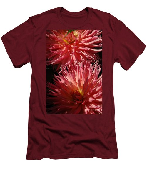 Men's T-Shirt (Slim Fit) featuring the photograph Dahlia Vi by Christiane Hellner-OBrien
