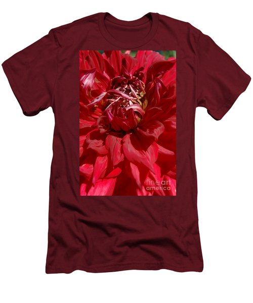 Dahlia Viiii Men's T-Shirt (Athletic Fit)
