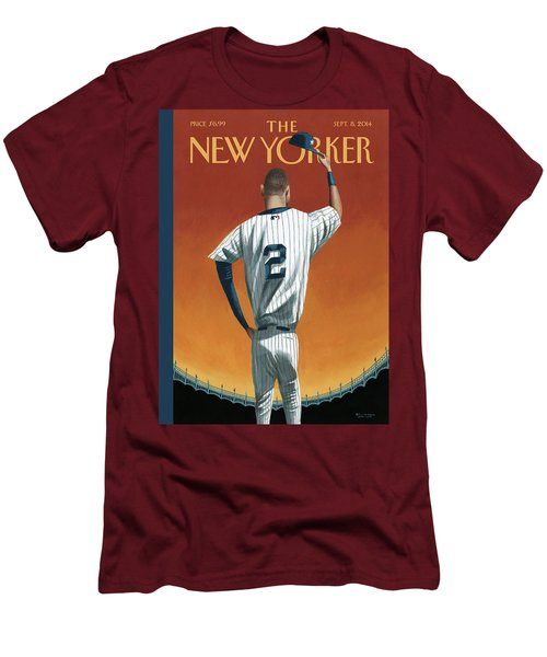 Derek Jeter Bows Men's T-Shirt (Athletic Fit)