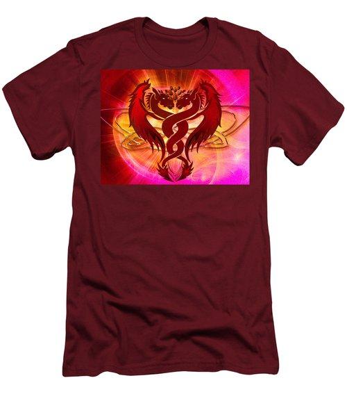 Dragon Duel Series 15 Men's T-Shirt (Athletic Fit)