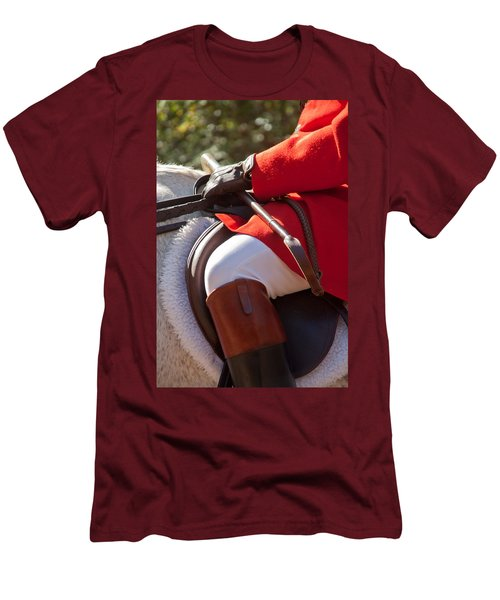 Dressed Rider Men's T-Shirt (Athletic Fit)