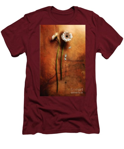 Duet Men's T-Shirt (Slim Fit) by Jaroslaw Blaminsky
