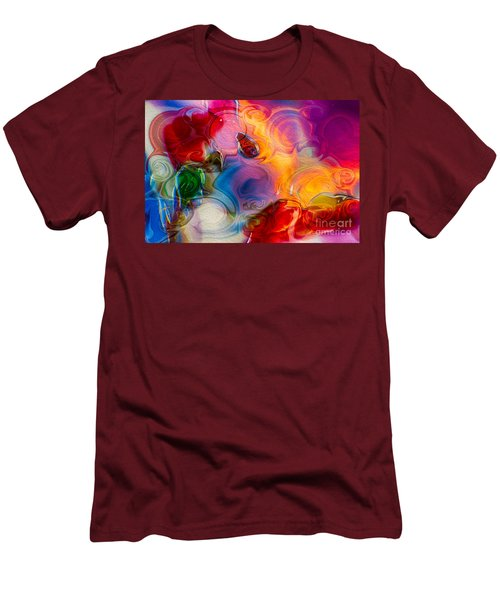 Enchanting Flames Men's T-Shirt (Athletic Fit)