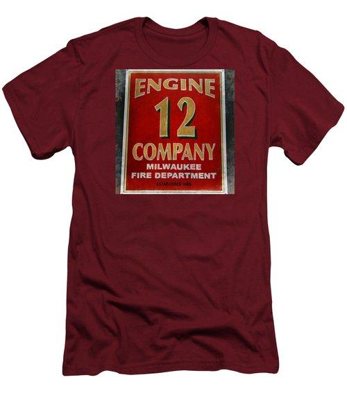 Engine 12 Men's T-Shirt (Slim Fit) by Susan  McMenamin