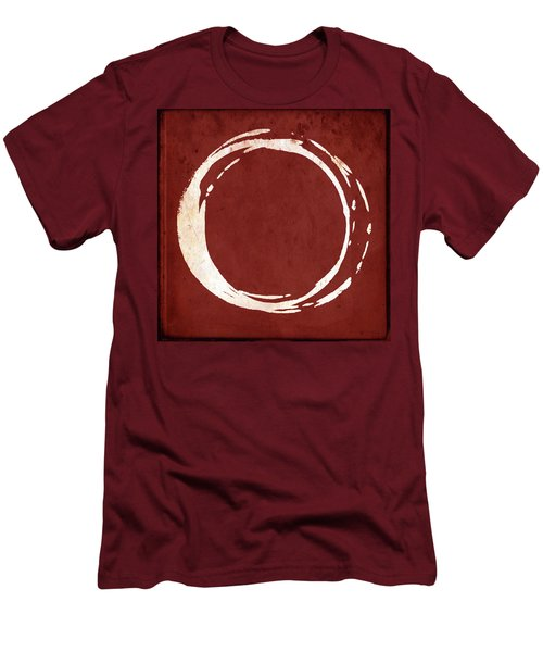 Enso No. 107 Red Men's T-Shirt (Athletic Fit)