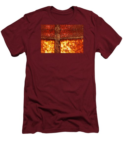 Men's T-Shirt (Slim Fit) featuring the photograph Erosion by Wendy Wilton