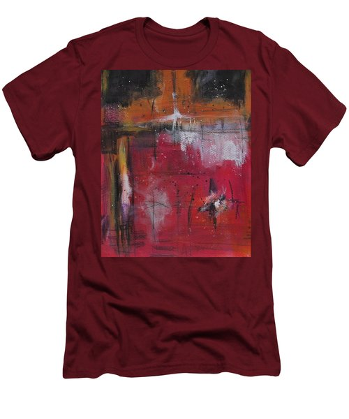 Fall Men's T-Shirt (Slim Fit) by Nicole Nadeau
