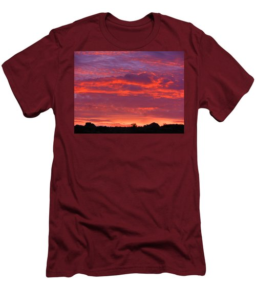 Fire In The Arizona Sky Men's T-Shirt (Athletic Fit)