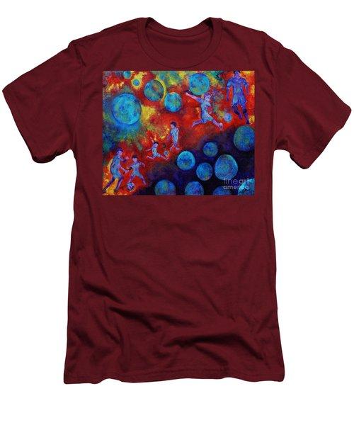 Football Dreams Men's T-Shirt (Athletic Fit)