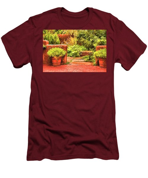 Garden Men's T-Shirt (Athletic Fit)
