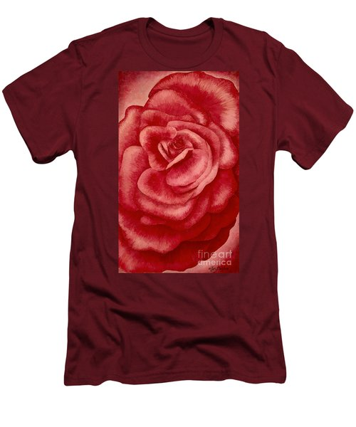 Garden Rose Men's T-Shirt (Athletic Fit)