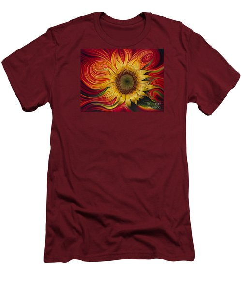 Girasol Dinamico Men's T-Shirt (Athletic Fit)