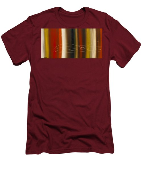 Gold Rush Men's T-Shirt (Slim Fit) by Carmen Guedez