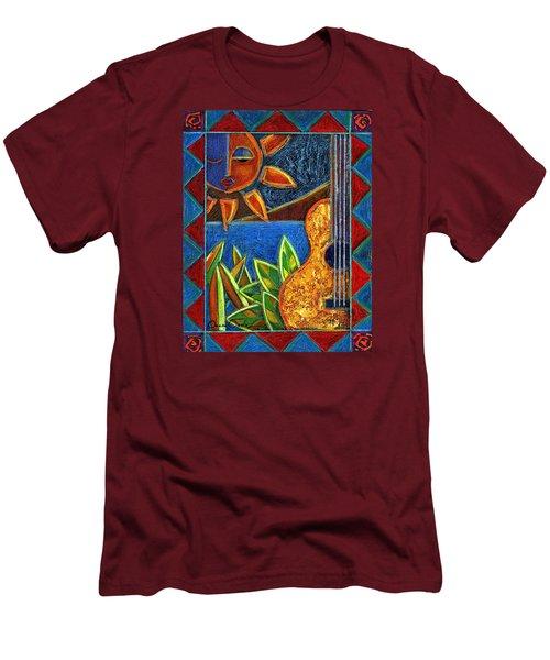 Hispanic Heritage Men's T-Shirt (Slim Fit) by Oscar Ortiz