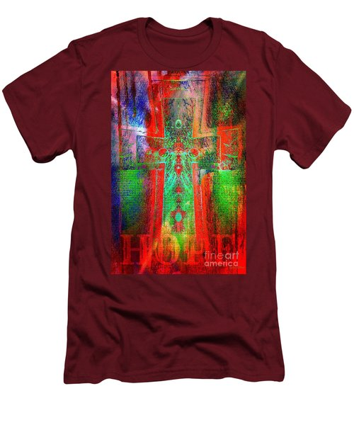 Hope Men's T-Shirt (Slim Fit) by Robert ONeil