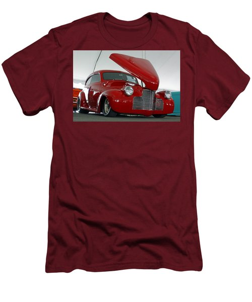 Men's T-Shirt (Slim Fit) featuring the photograph Hot In Red by Shoal Hollingsworth