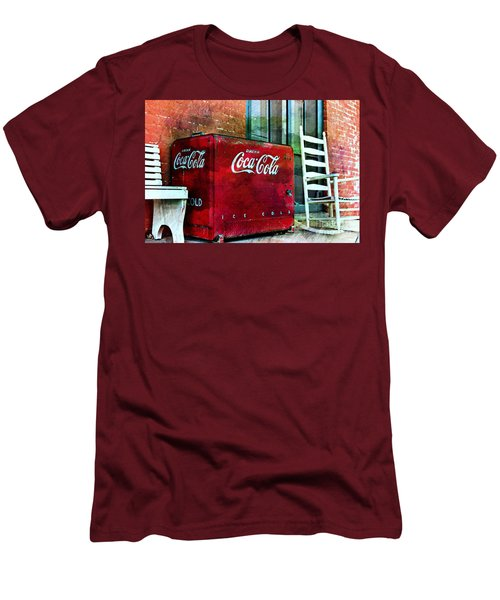 Ice Cold Coca Cola Men's T-Shirt (Slim Fit) by Benanne Stiens