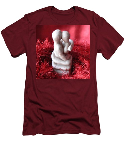 Intertwined Men's T-Shirt (Slim Fit) by Barbara St Jean
