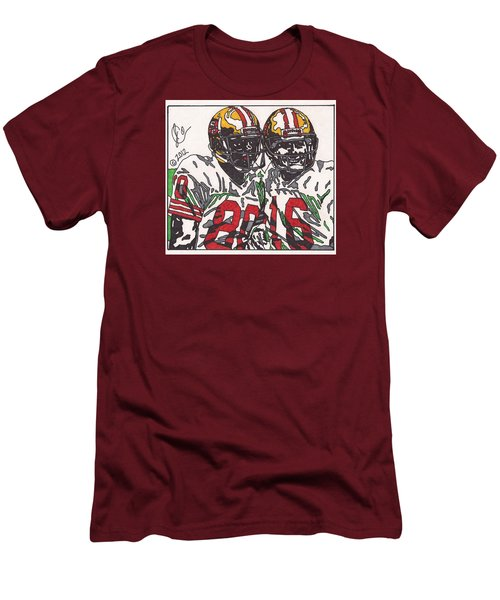 Joe Montana And Jerry Rice Men's T-Shirt (Athletic Fit)