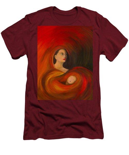 ..just  Love.. Men's T-Shirt (Slim Fit) by Fanny Diaz