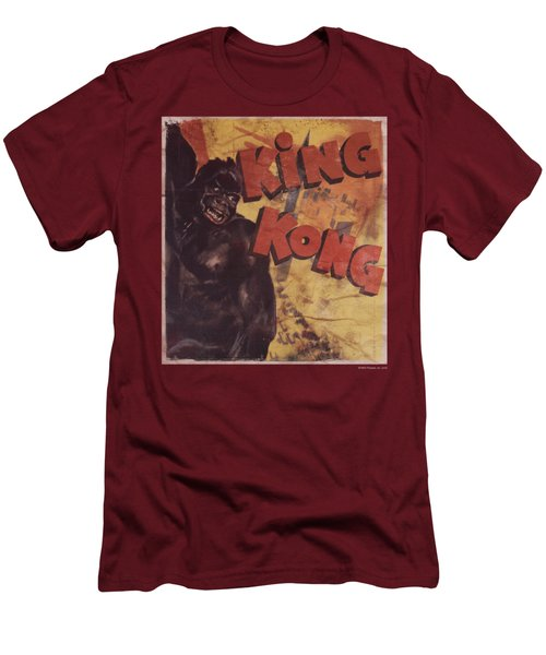 King Kong - Primal Rage Men's T-Shirt (Slim Fit) by Brand A