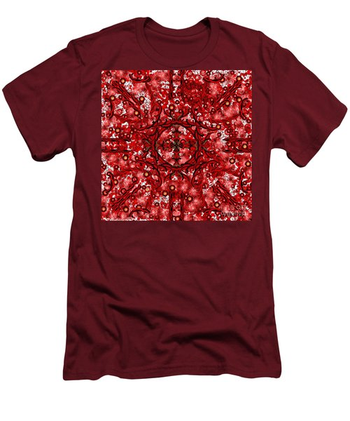 Kundalini Energy Men's T-Shirt (Slim Fit) by Barbara Chichester